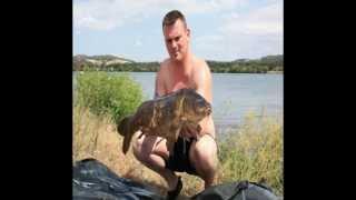 karper vissen op de Rhone