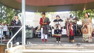 SF INDIAN MARKET 2019  - TRADITIONAL NATIVE AMERICAN CLOTHING CONTEST  - Mens Traditional