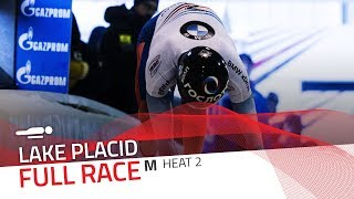 Lake Placid | BMW IBSF World Cup 2017/2018 - Men's Skeleton Heat 2 | IBSF Official