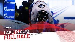 Lake Placid | BMW IBSF World Cup 2017/2018 - Men's Skeleton Heat 2 | IBSF Official