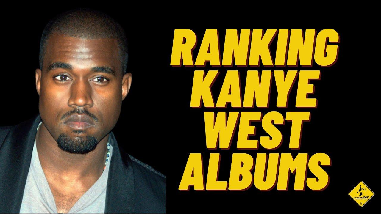 RANKING KANYE WEST ALBUMS (Tier Maker)