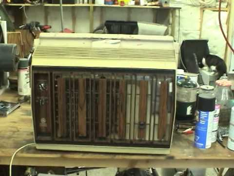 1980 Ge Window Air Conditioner Youtube