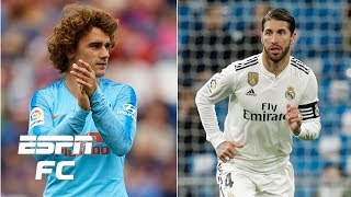 will griezmann end up at manchester united is sergio ramos leaving real madrid transfer rater