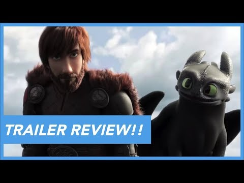 How To Train Your Dragon: The Hidden World - Trailer #1 Review