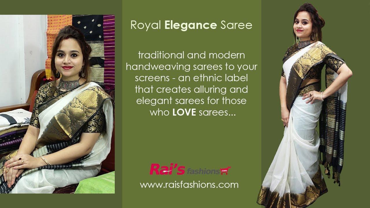Royal Elegance Handloom Sarees (05th August) - 3AS