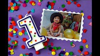 Cowboy Party   Carl Angelo's 1st birthday    CheFfrey