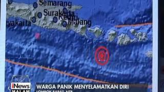 Gempa 5,2 SR Di Selatan Pulau Bali, Warga Panik Menyelamatkan Diri - INews Malam 12/02