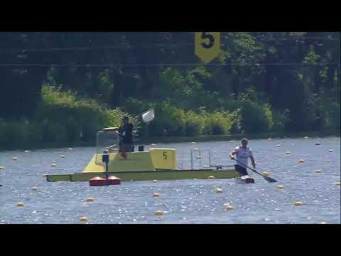 ICF Canoe Sprint World Cup 2 . 2018  DUISBURG,Germany. C1 men 1000 m Final A