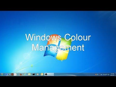 Windows Color Management