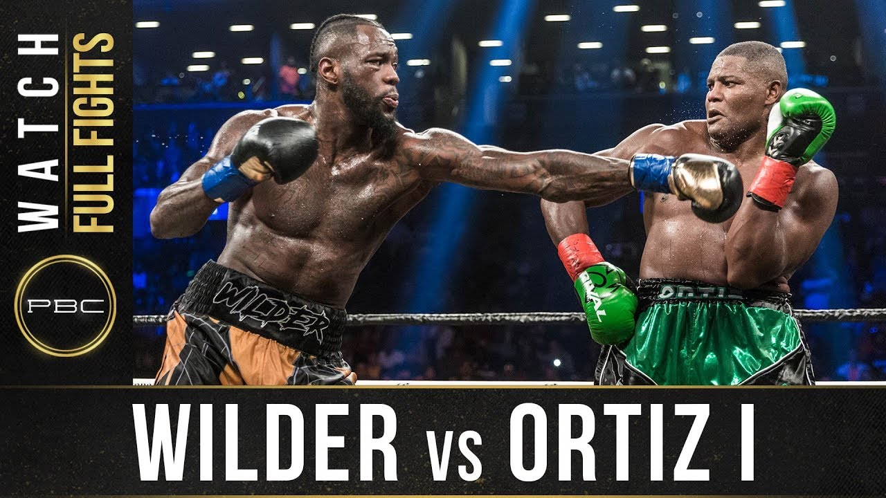 Wilder vs Ortiz 1 - Full Fight: : March 3, 2018 - PBC on Showtime