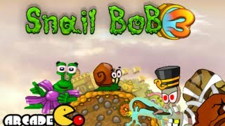 Snail Bob 3 Complete Walkthrough Levels 1 - 25 HD