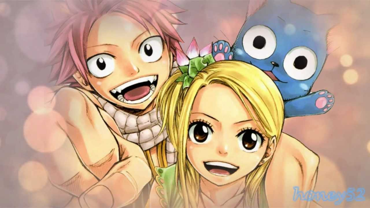 Fairy Tail Lucy Natsu