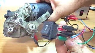 DC Motor Direction - 6 Pin Switch - DC Motor yönlendirme - 6 pinli anahtar