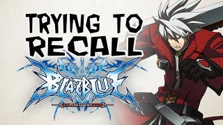 TRYING TO RECALL THE PLOT OF: Blazblue Calamity Trigger