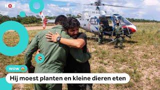 Man overleeft 36 dagen in jungle na vliegtuigongeluk