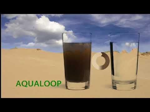 AQUALOOP avoir son propre traitement de l'eau
