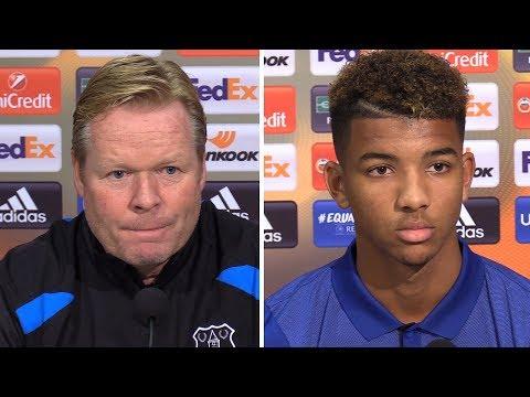 Ronald Koeman & Mason Holgate Pre-Match Press Conference - Everton v Apollon Limassol -Europa League