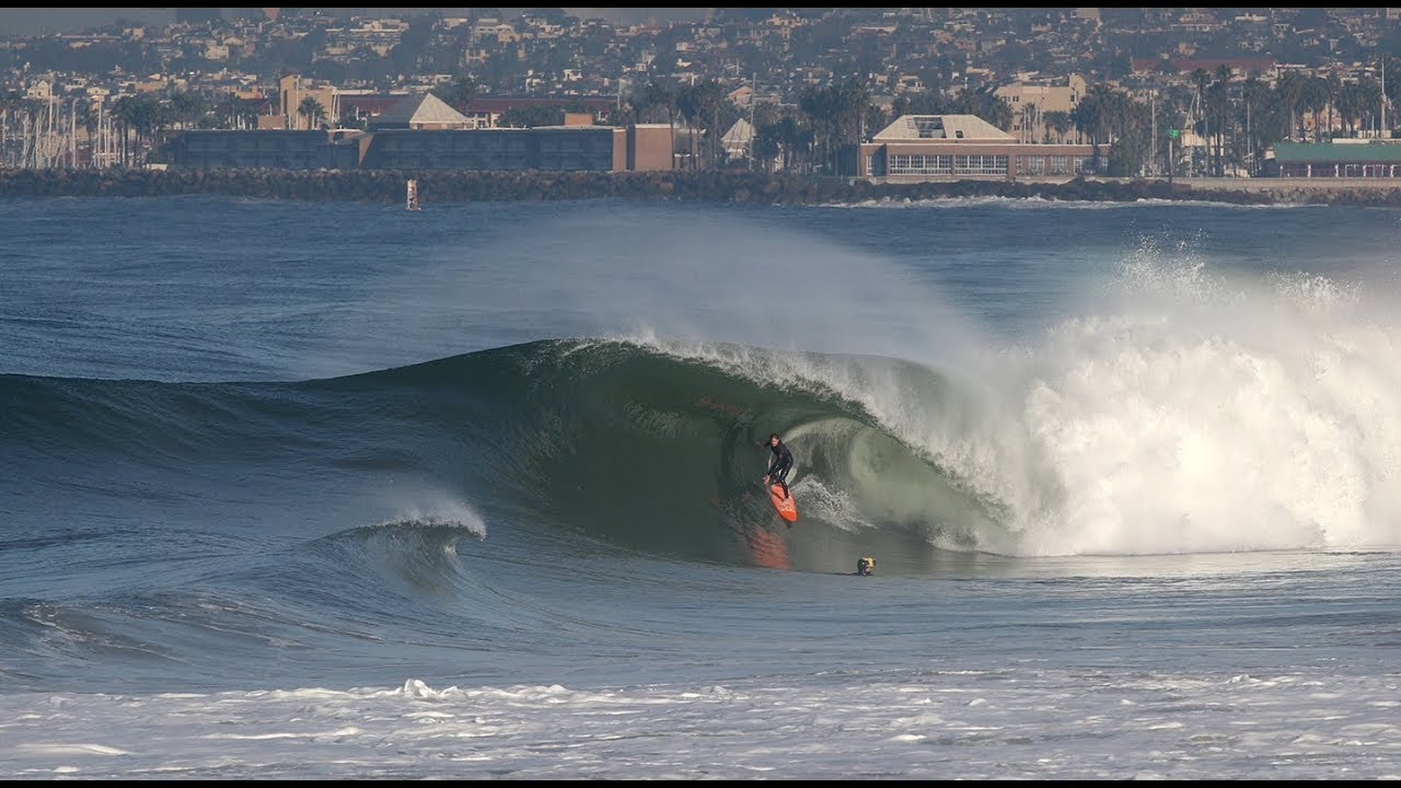 Powerful Surf brings Well Overhead Waves to the South Bay