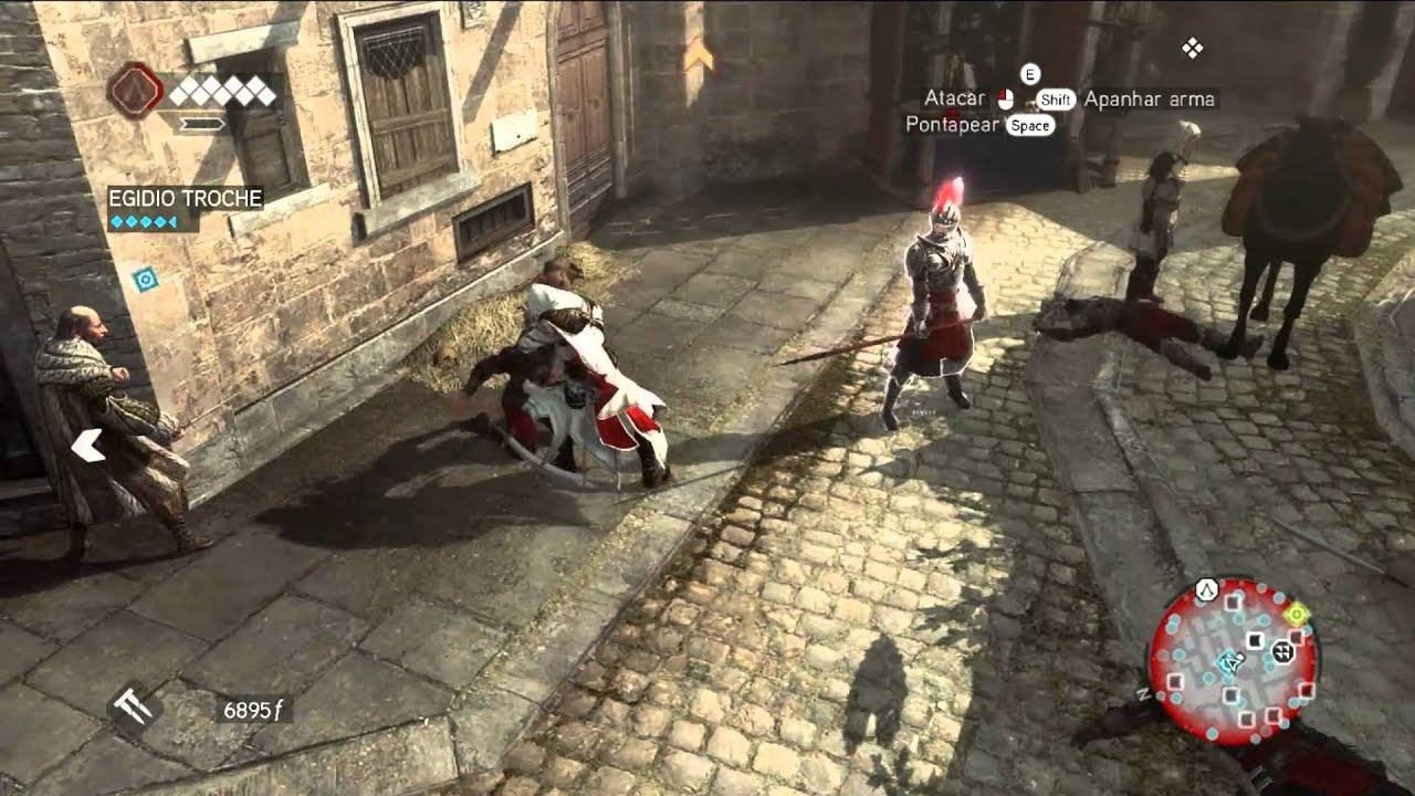 Assassin S Creed Brotherhood Pc Gameplay Hd Youtube