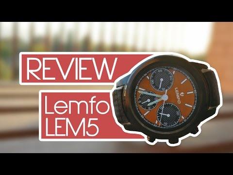 LEMFO LEM5, la review completa con Android 5.1 | Smartwatch con 3G