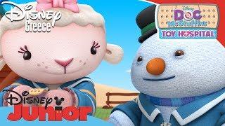 Η Μικρή Γιατρός - Τα Παιχνίδια Δείχνουν Ψυχραιμία | Doc McStuffins