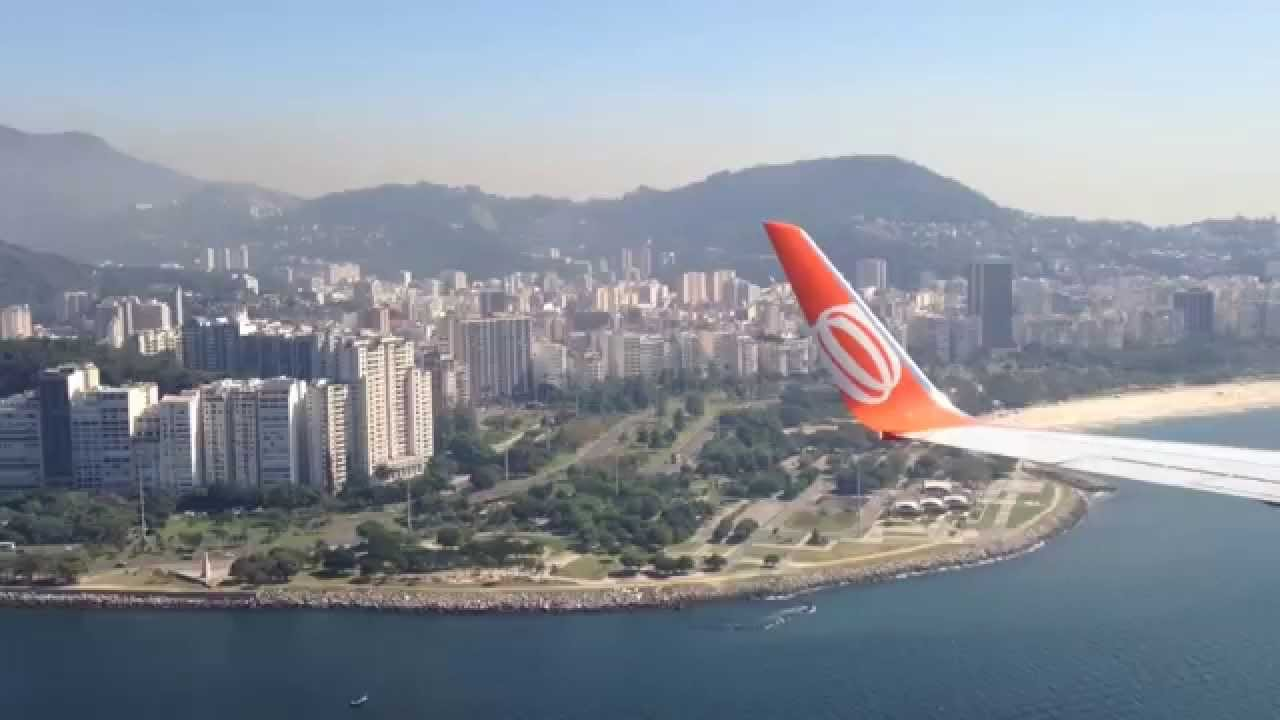 Aeroporto Santos Dumont : Rio de janeiro pousando no aeroporto santos dumont youtube