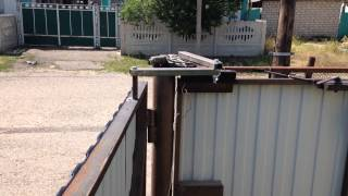 Самодельные автоматические ворота(Автоматические ворота своими руками., 2015-05-30T19:50:41.000Z)