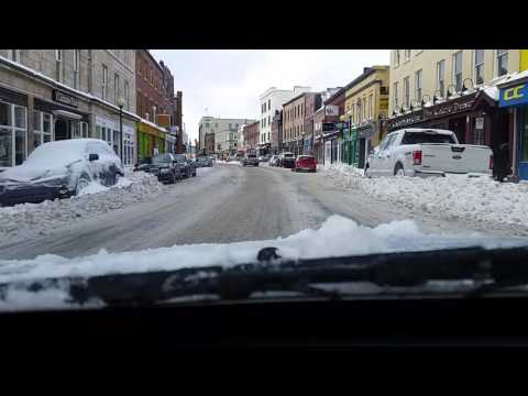 St. John's Newfoundland February 14th 2016