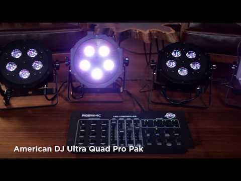 American DJ Ultra Quad Pro Pak MF