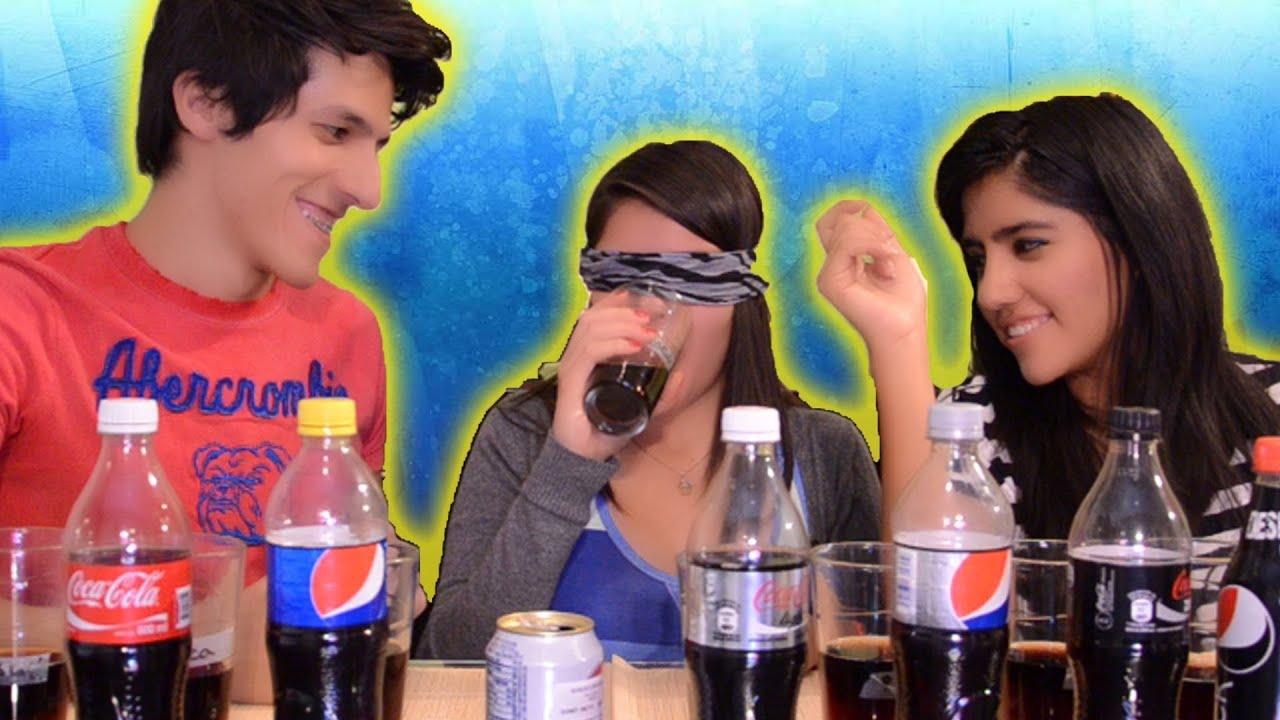 Pepsi Vs Coke Challenge Reto Pepsi Vs Coca Sin Mirar
