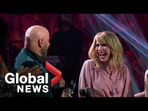 John Travolta Mistakes Drag Queen For Taylor Swift At MTV VMAs