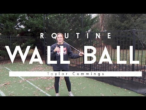 Practice at Home- Wall Ball Workout