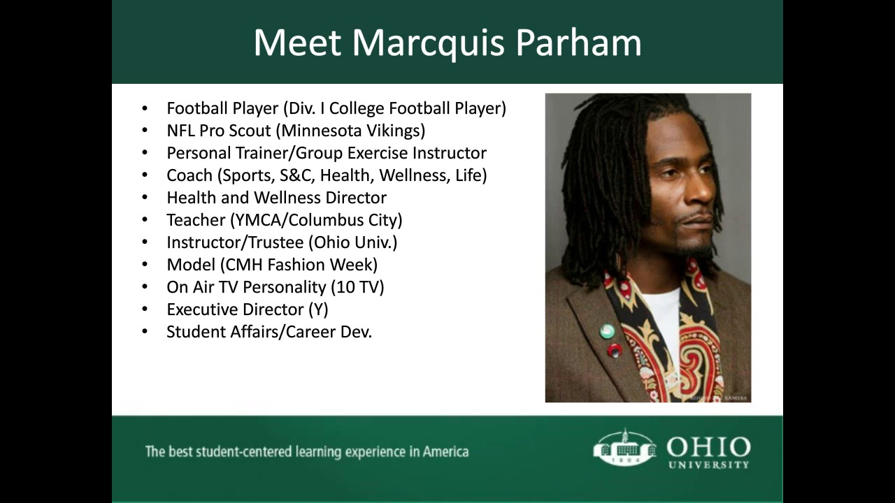 Webinar - Career Development for MCE Students - Ohio University