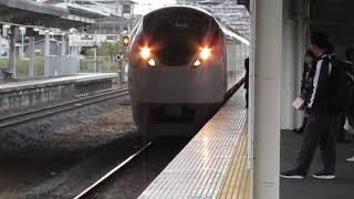 常磐線E657系特急ときわ80号品川行牛久駅高速通過※警笛あり
