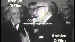 DiFilm - Presentan libro en el Instituto Torcuato Di Tella (1967)