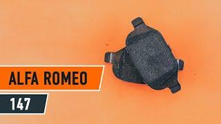 Kako zamenjati zadaj zavorne ploščice na ALFA ROMEO 147 (937) [VIDEO VODNIK AUTODOC]
