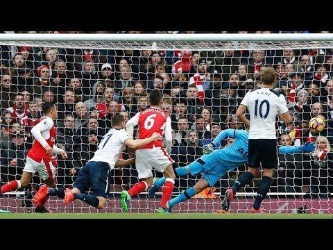 Download Arsenal vs Tottenham 1-1 full highlights EPL 6/11/2016