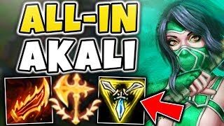 STOP PLAYING AKALI WRONG! RAGEBLADE AKALI IS ACTUALLY LEGIT! AKALI TOP GAMEPLAY! - League of Legends