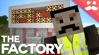 How to Build a REDSTONE FACTORY in Minecraft!