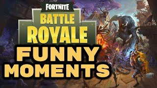 Fortnite Battle Royale: Funny Moments! - BROKEN LEG GLITCH