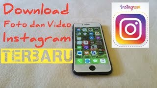 Gambar cover Cara download video, foto di Instagram dengan Iphone