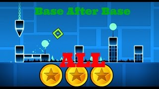 Geometry Dash COMPLETED PLAYTHROUGH Ep.2: Back on Track All 3 coins