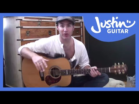 Body Posture and Finger Placement Exercise (Guitar Lesson BC-106) Guitar for beginners