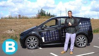 Deze auto rijdt op zonne-energie en is in 2019 te koop ☀️????