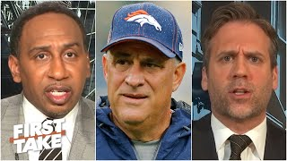 First Take breaks down Broncos coach Vic Fangio's comments on racism not being prevalent in the NFL
