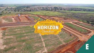 ANDAMENTO DE OBRAS DO LOTEAMENTO HORIZON – CATANDUVA/SP
