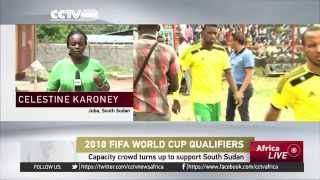 South Sudan vs Mauritania ended in 1 - 1 draw: Qualifying for World Cup 2018 in Russia