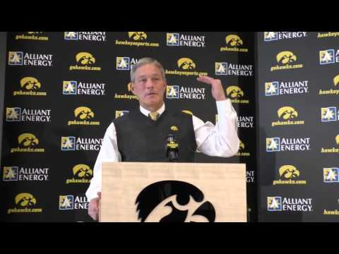 Emotional Kirk Ferentz Talks About Son, James, in Super Bowl