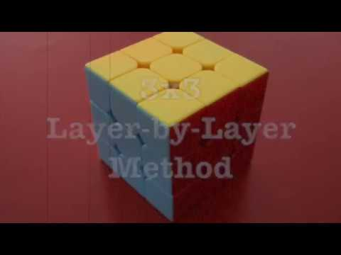 How To Solve A Rubik's Cube EASILY (Layer-by-Layer Method)