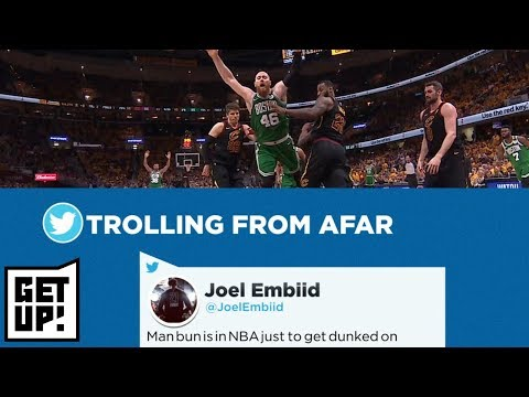 Jalen Rose reacts to Joel Embiid trolling Aron Baynes while on vacation | Get Up | ESPN